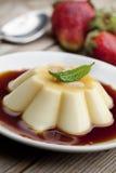 caramelkräm Royaltyfria Foton