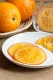 Caramella arancione Immagine Stock Libera da Diritti