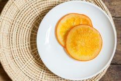 Caramella arancione Fotografie Stock Libere da Diritti