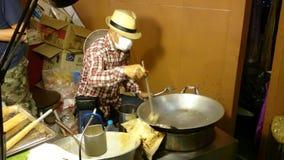 Caramella d'annata fatta a mano in Tailandia archivi video