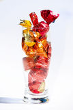 Caramella dei dolci in vetro Immagini Stock