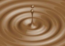 Caramella del cioccolato caldo Immagine Stock Libera da Diritti