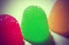 Caramella della gelatina Immagine Stock
