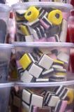 Caramella della liquirizia Fotografie Stock Libere da Diritti