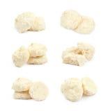 Caramella di cioccolata bianca isolata Immagini Stock Libere da Diritti