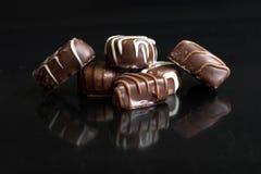 Caramella di cioccolato fotografie stock libere da diritti