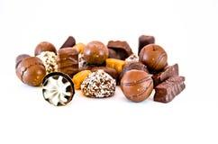 Caramella di cioccolato Immagini Stock