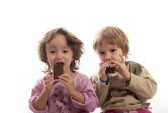 Caramella di cioccolato Fotografia Stock