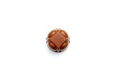 Caramella di cioccolato isolata Fotografie Stock Libere da Diritti