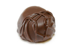 Caramella di cioccolato scura Immagine Stock