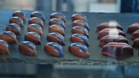 Caramella di cioccolato in una finestra di deposito Fotografia Stock Libera da Diritti