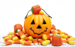 Caramella di Halloween Immagini Stock Libere da Diritti