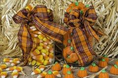 Caramella di Halloween Immagini Stock