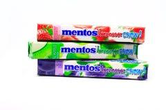 Caramella di Mentos Fotografia Stock
