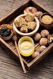 Caramella dietetica per immunità fotografia stock