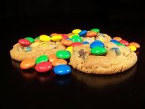 Caramella e biscotti Fotografie Stock Libere da Diritti