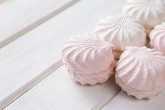 Caramella gommosa e molle bianca Fotografia Stock Libera da Diritti