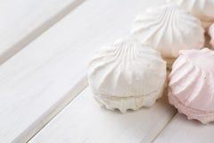 Caramella gommosa e molle bianca Fotografie Stock Libere da Diritti
