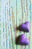 Caramella sotto forma di un cuore Fotografia Stock Libera da Diritti