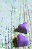Caramella sotto forma di un cuore Immagini Stock Libere da Diritti