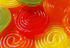 Caramella a spirale variopinta Fotografie Stock Libere da Diritti