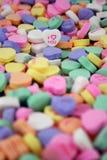 Caramella sweethearts2 Fotografie Stock