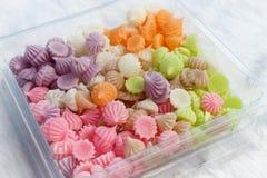 Caramella tailandese colorsful Fotografia Stock Libera da Diritti