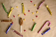 Caramelle Fotografie Stock