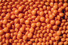 Caramelle arancio Fotografie Stock