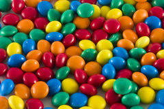Caramelle colorate Fotografia Stock