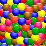 Caramelle colorate, campioni, modello Fotografie Stock Libere da Diritti