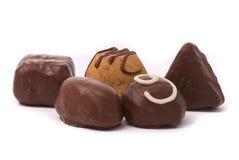 Caramelle del cioccolato al latte Fotografia Stock Libera da Diritti