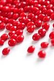 Caramelle del cuore della cannella del biglietto di S. Valentino Fotografia Stock