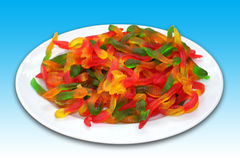 Caramelle della gelatina Fotografie Stock Libere da Diritti