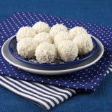 Caramelle della noce di cocco Immagini Stock