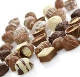 Caramelle di cioccolato Immagini Stock Libere da Diritti