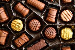 Caramelle di cioccolato Fotografie Stock
