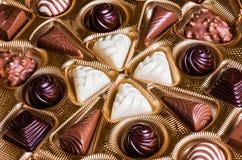 Caramelle di cioccolato Immagine Stock