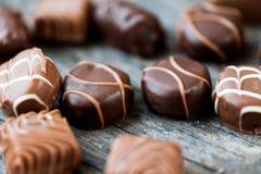 Caramelle di cioccolato Fotografie Stock Libere da Diritti