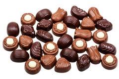 Caramelle di cioccolato Assorted fotografie stock libere da diritti