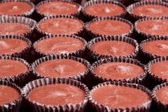 Tazze del cioccolato al latte Fotografie Stock Libere da Diritti