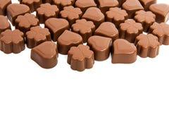 Caramelle di cioccolato isolate Immagine Stock Libera da Diritti