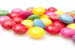 Caramelle di colore Fotografia Stock