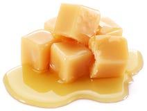 Caramelle dolci del caramello Immagine Stock Libera da Diritti
