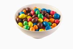 Caramelle dolci variopinte Fotografia Stock