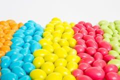 Caramelle dolci variopinte Fotografia Stock Libera da Diritti