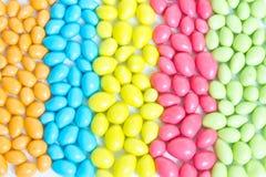 Caramelle dolci variopinte Fotografie Stock