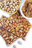 Caramelle fatte a mano dell'arachide Immagini Stock Libere da Diritti