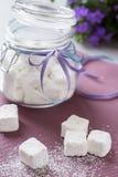 Caramelle gommosa e molle in barattolo Fotografia Stock Libera da Diritti
