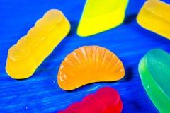 Caramelle multicolori della gelatina Immagine Stock